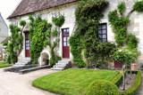 CHENONCEAU, FRANCE - JUNE,2013 - Farm at the Chateau de Chenonceau, Loire Valley castle near the village of Chenonceaux.