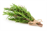 Rosemary bound on a white background - 129297180