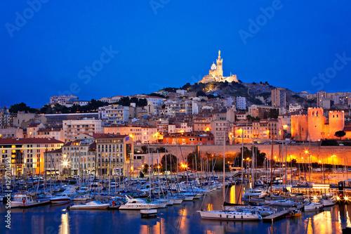 Plagát Marseille, Frankreich