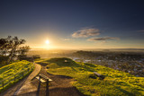 Sunrise from Mount Eden