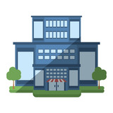 store building shop isolated icon vector illustration design