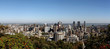Panoramic Skyline of Montreal Quebec