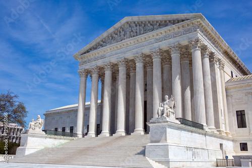 USA Supreme Court Building Poster