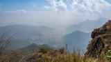 Time Laspe mountains landscape,Phu Chi Fa