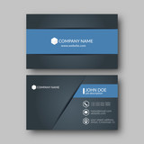 Business Card Template. - 129408921
