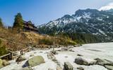Zakopane, droga na Morskie Oko, góry Tatry