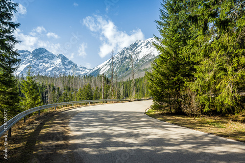 Droga na Morskie Oko, Zakopane, Tatry