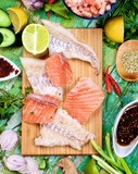 Ingredients of Thai Fish Cakes
