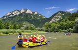 Canoe trips on river Dunajec, Slovakia - 129438555