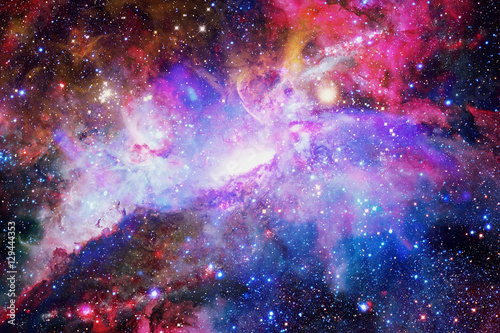 Aluminium Heelal Galaxy and nebula. Elements of this Image Furnished by NASA