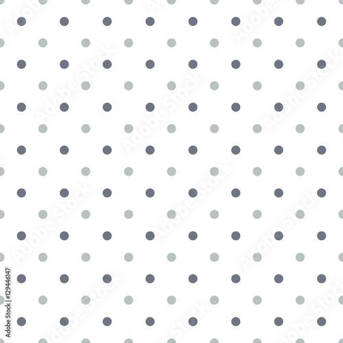 Polka dot dual color seamless background - 129446147