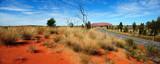 Australia Landscape : Uluru Road to Red rock of Alice Spring, Yulara, Mutitjulu - 129459176