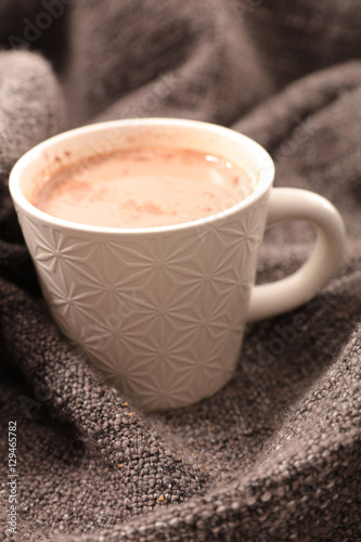 Foto op Canvas Chocolade hot chocolate comfort