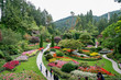 Butchart Gardens in Brentwwod Bay Vancouver Island