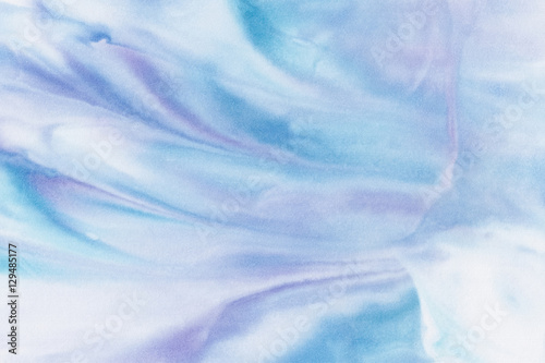 Abstract colorful watercolor background. - 129485177