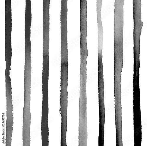 Inky Vertical Stripes - 129493734