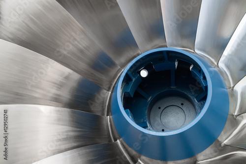 Shiny Francis Hydro Turbine Poster