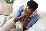 sick black man