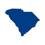 south carolina map. logo vector. - 129541723