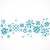 flocon de neige,vecteur - 129542988