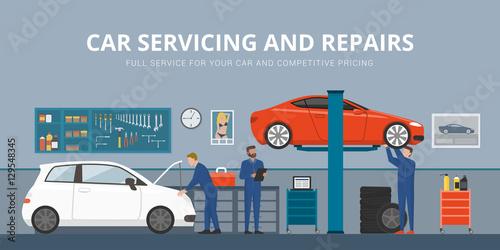 Poster Auto repair