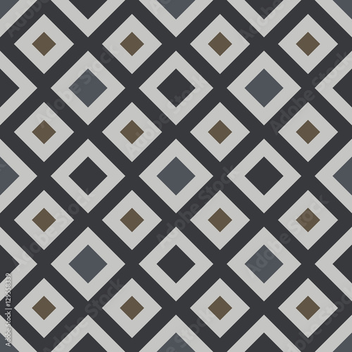 Hydraulic vintage cement tiles - 129558339