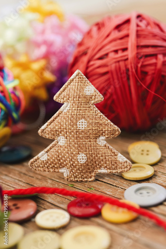 Poster cozy christmas ornaments
