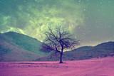 alien tree landscape - 129591931