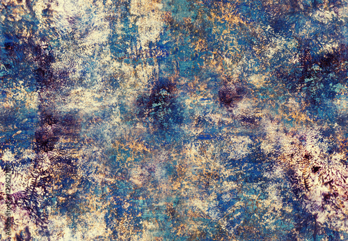 Art painting seamless pattern