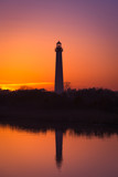 Cape May Lighthouse Reflections  - 129624315