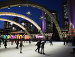 TORONTO -  City Hall skating ring and its colorful lights are a popular winter attraction