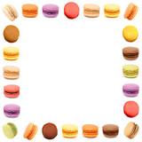 Macaron / cadre carré