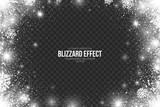 Snow Blizzard Effect...
