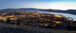Panorama of Kelowna at Sunset