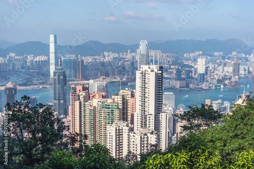 Hong Kong view from Victoria Peak © Alexey Pelikh
