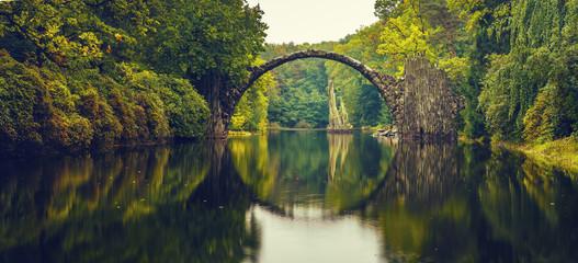 Rakotz bridge in Kromlau © Mike Mareen