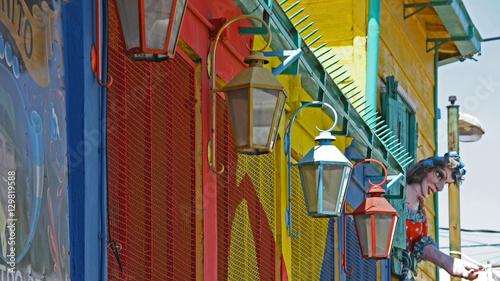 Plexiglas Buenos Aires Caminito, Barrio La Boca, Buenos Aires, Argentina
