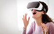 VR glasses giving amazing gaming experience