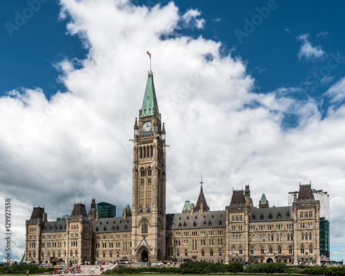 Foto op Canvas Canada Parliament Building of Canada