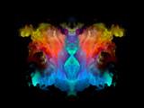 Color Rorschach Test Pattern - 130008332