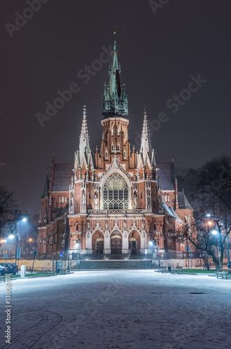 Naklejka Kościół św. Józefa - Kraków