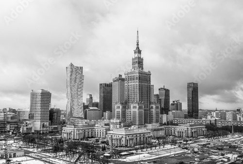 Warsaw town center downtown - 130128197