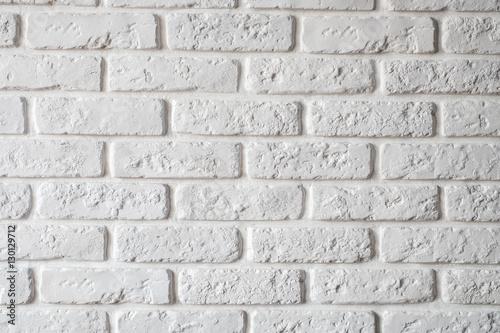 Fototapeta wall white brick