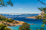 The Krk bridge in Croatia
