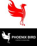 red phoenix bird logo