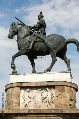 Poster Equestrian statue of Gattamelata in Padua, Italy