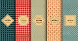 Fototapety Retro vintage seamless pattern