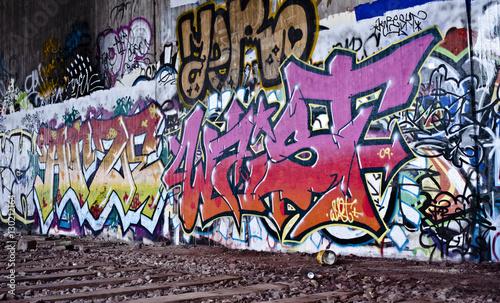 Tuinposter Graffiti Graffiti