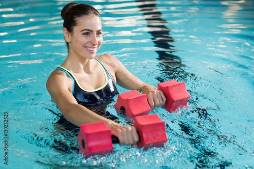 Foto Murales Aqua fitness