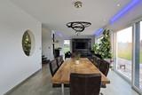 intérieur salon salle à manger contemporain  - 130239900